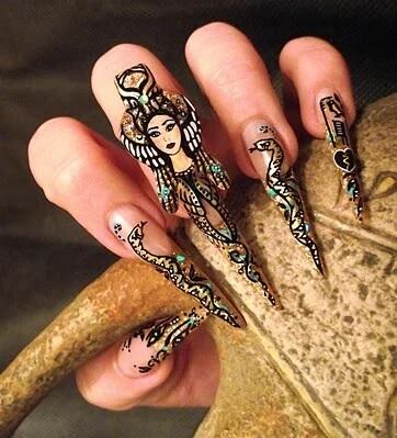 Ногти в Египте в древние времена
